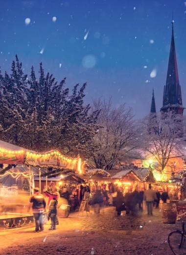 16 миллиардов лампочек загорятся в Германии на Рождество и Новый год