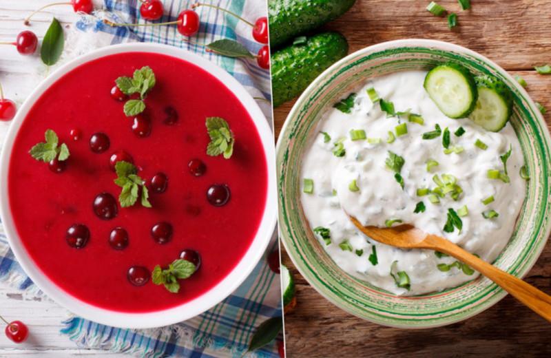 Не только окрошка. Вишисуаз, довга и еще 10 рецептов охлаждающих летних супов