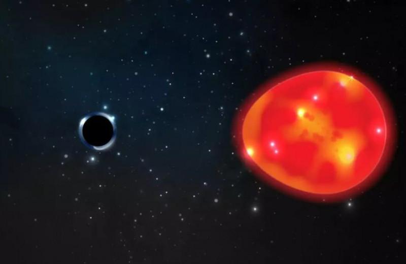 Обнаружена ближайшая к Земле черная дыра. Она очень маленькая!
