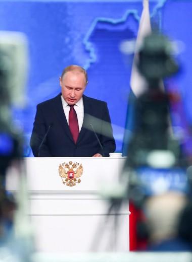 «И ракеты, и масло». Западные СМИ увидели в речи Путина попытку сдержать падение рейтинга