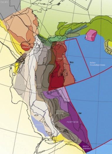 Как погиб древний континент размером с Гренландию: реконструкция
