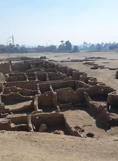 На западном берегу Нила нашли древнюю столицу Египта
