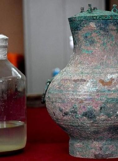 «Эликсир бессмертия» найден в древней китайской могиле