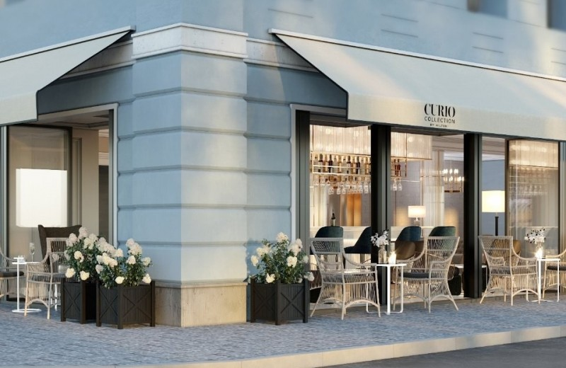 В центре Москвы готовится к открытию первый в России Curio Collection by Hilton