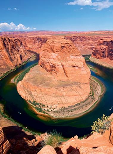 Подкованная гора: посмотрите на водный рукав, которому 17 миллионов лет