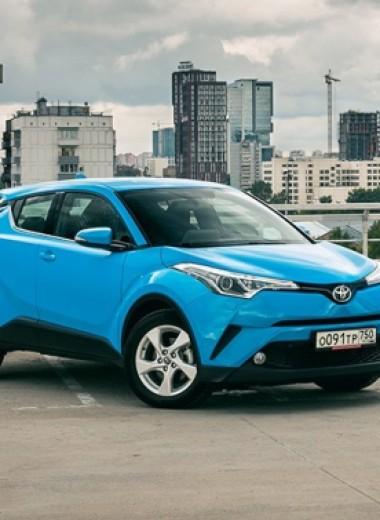 Принцип равнозначности. Kia ProCeed vs Toyota C-HR