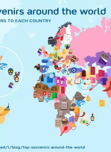 Бумеранг, Лего и Кольцо всевластия: какие сувениры везут домой туристы из разных уголков мира