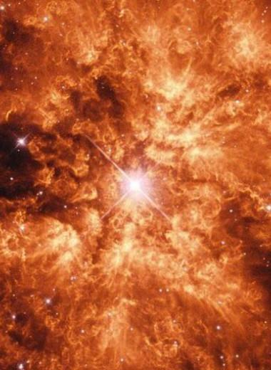 Земля пролетает сквозь останки сверхновой: железный дождь