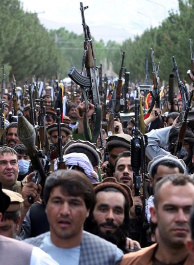Кабул остался один на один с талибами