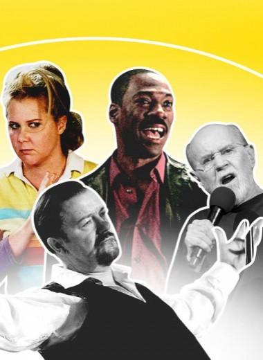 Полный гид по мировому стендапу и его героям: от Ленни Брюса и Луи Си Кея до Эми Шумер и Дональда Гловера