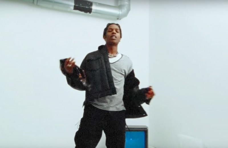 Стиль в клипе A$AP Forever