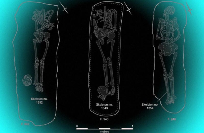 В некрополях Кембриджшира нашли казненных древнеримских преступников