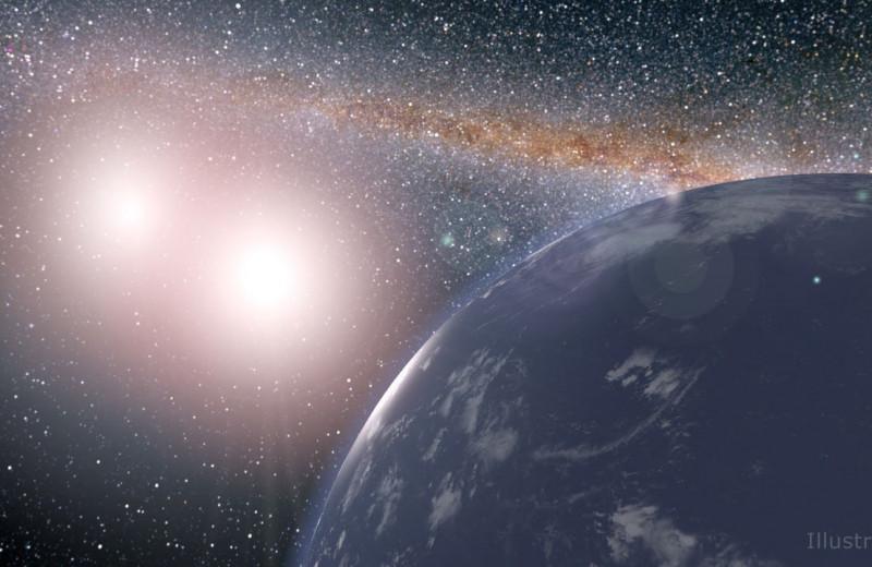 Может ли существовать жизнь в двойных звездных системах?