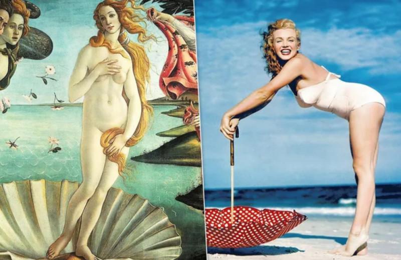 От Афродиты до Мэрилин: как менялись идеалы женской красоты