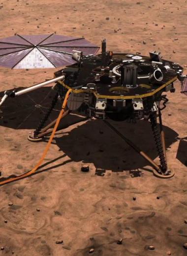 Космический зонд InSight погрузился в экстренную спячку, чтобы пережить марсианскую зиму