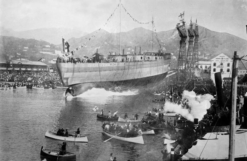 65 лет взрыву советского линкора «Новороссийск», в котором погибли 829 человек