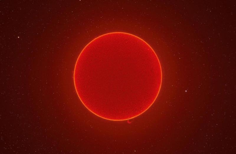 Взгляните на удивительно четкое фото Солнца, составленное из 100 000 снимков