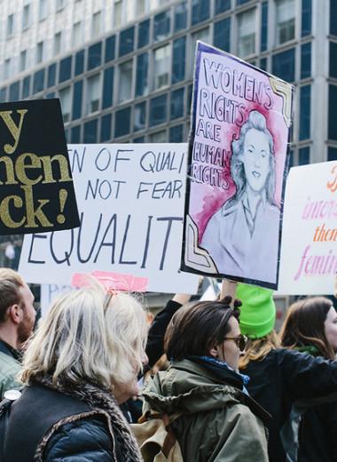 Исследование: 42% женщин против феминизма, а 39% не поддерживают #MeToo
