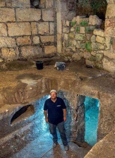 В Старом Иерусалиме нашли загадочные подземные комнаты: видео