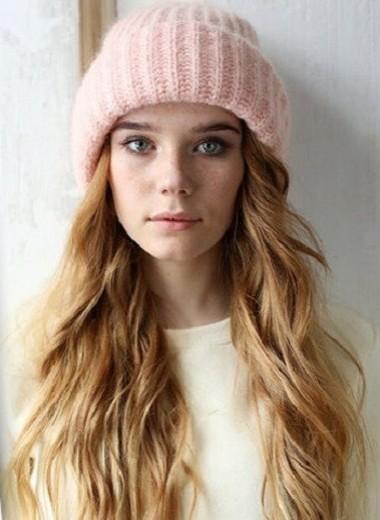 Объемная вязаная шапка: инструкция по применению