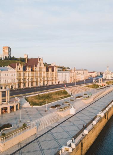 Держаться воды: маршрут по набережным Нижнего Новгорода