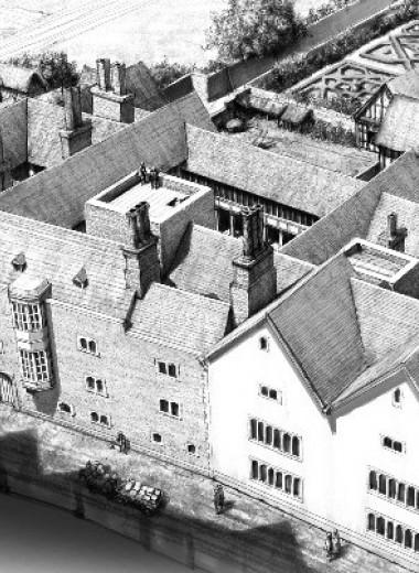Кромвель в XVI веке за несколько лет у власти построил огромный особняк в центре Лондона