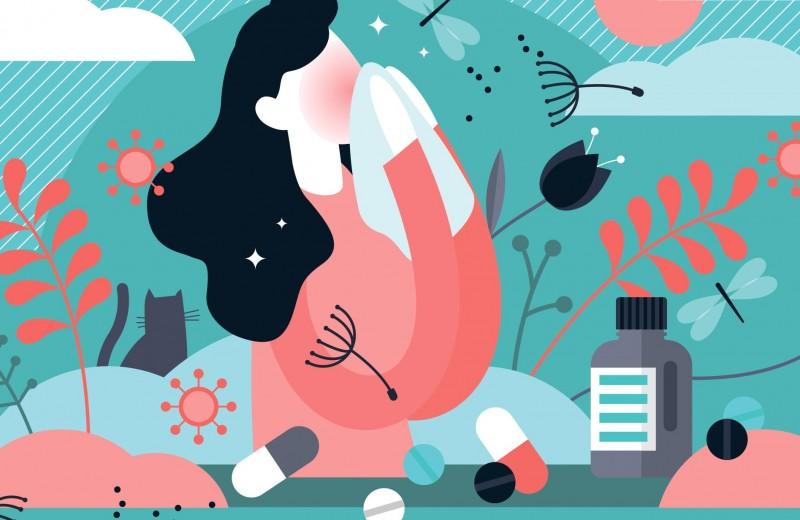 Сезонная аллергия, или поллиноз: симптомы и лечение