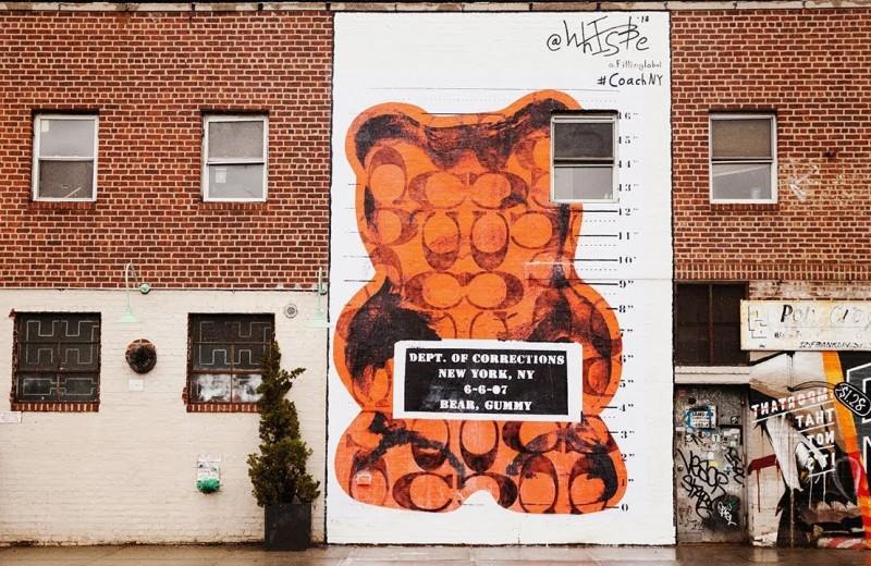Как уличный художник из Нью-Йорка продает мишек Гамми на $500 000 в год