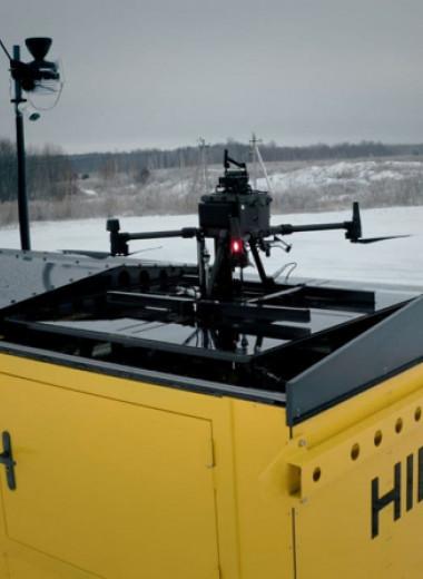Российская компания выпустила оборудованный метеостанцией терминал для дронов