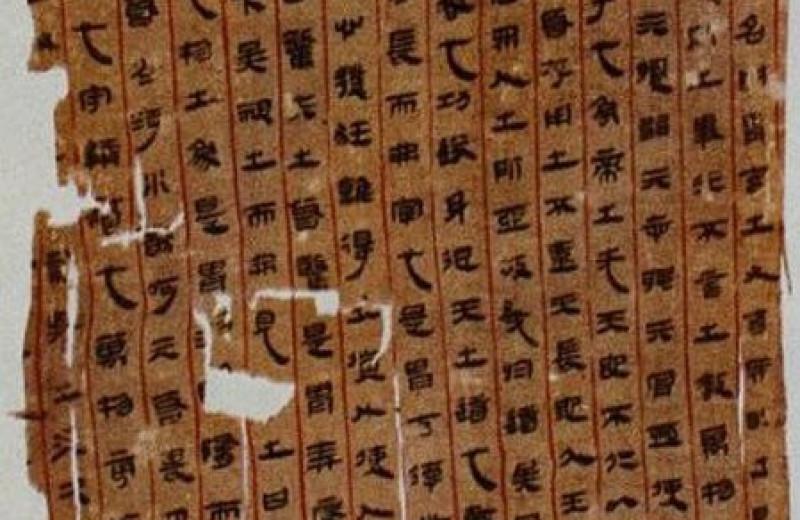 Китайская рукопись возрастом более 2000 лет оказалась древнейшим анатомическим текстом