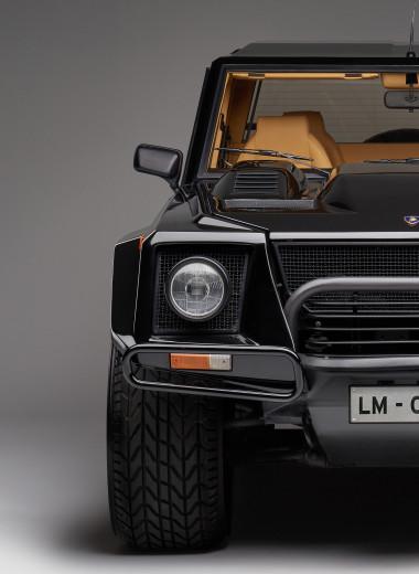 Дикий и забытый: факты и мифы о невероятном Lamborghini LM002
