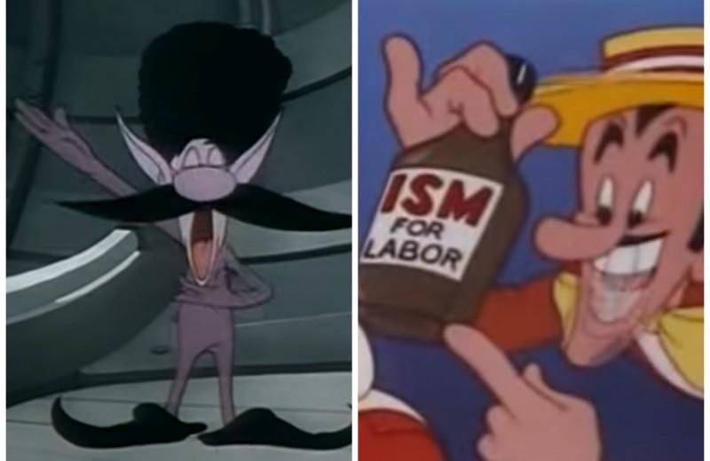 Как западная пропаганда изображала СССР и русских в мультфильмах