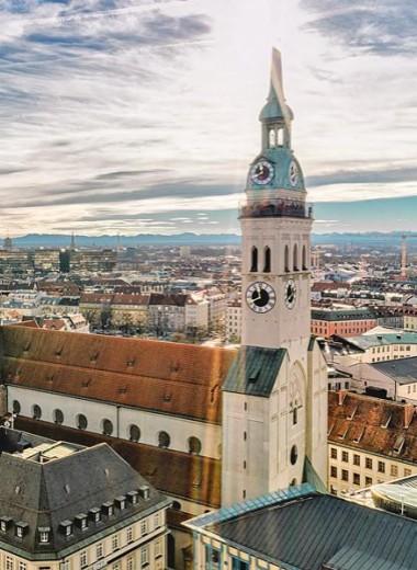 Мюнхен — город, непохожий на Германию