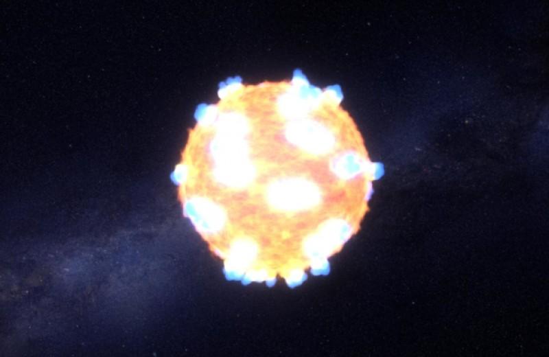 Космическую «корову» объяснили коллапсом массивной звезды