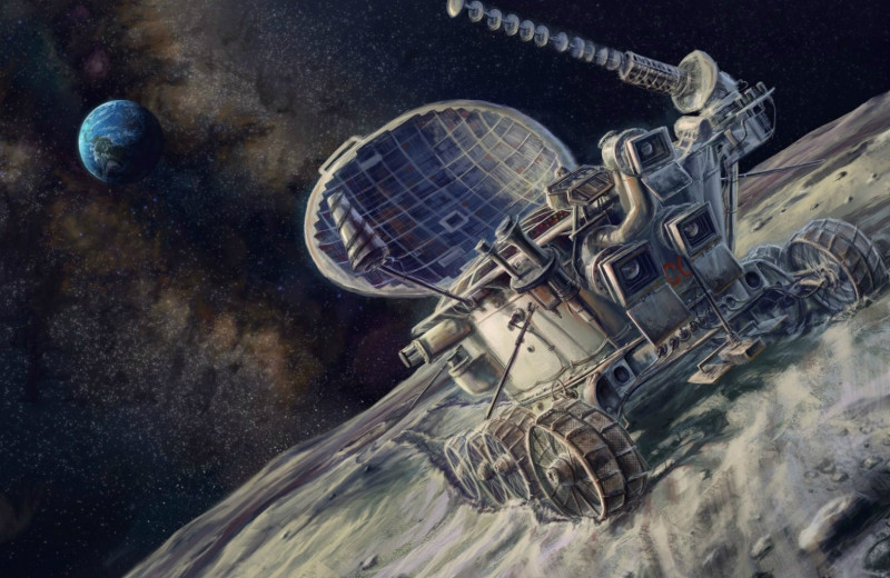 Шесть машин, припаркованных на Луне: история луноходов
