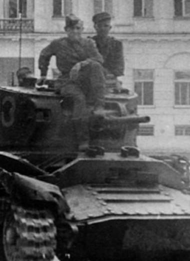 И вдруг запели птицы: как танкист Отрощенков узнал о Победе
