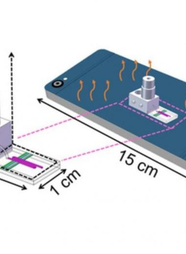 Ультрапортативный прибор определил мутации при помощи смартфона