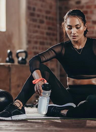 Выдохни: отдых между упражнениями