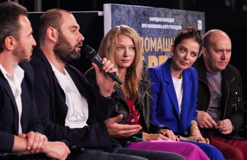 Семен Слепаков собрал звезд на презентации своего нового сериала
