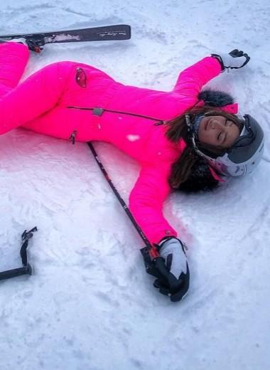 Ольга Бузова упала и ела снег в
