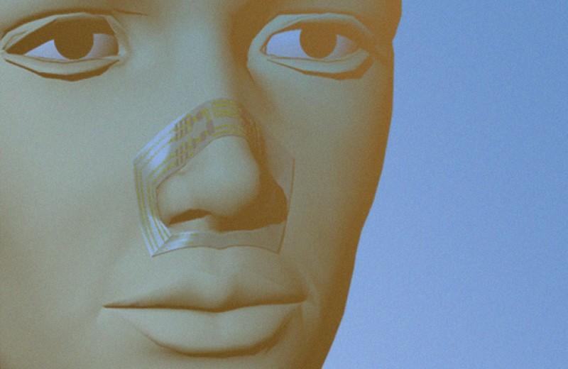 Гибкий датчик упростил мониторинг дыхания