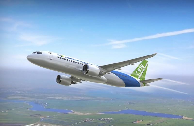 «Убийца» Boeing и Airbus: первый китайский среднемагистральный лайнер