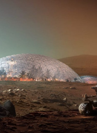 Как будет выглядеть «марсианский город» на Земле