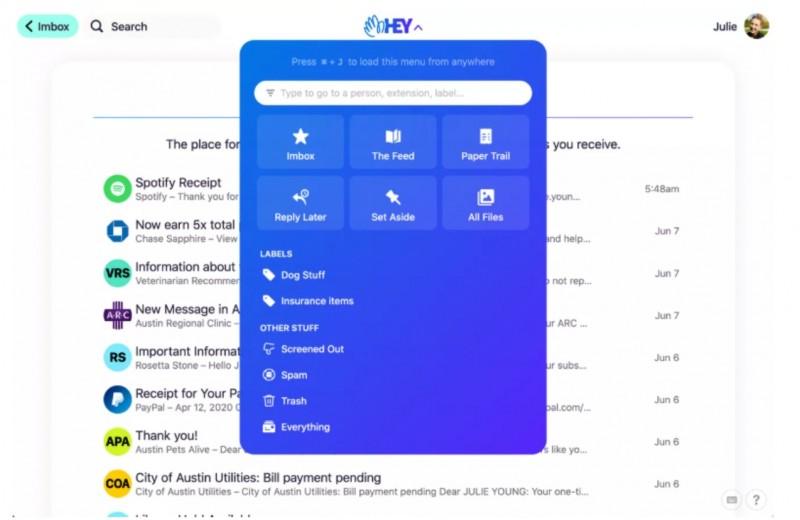 «Умная» сортировка и никаких «лишних» писем за $99 в год: Basecamp представила бета-версию почтового сервиса Hey