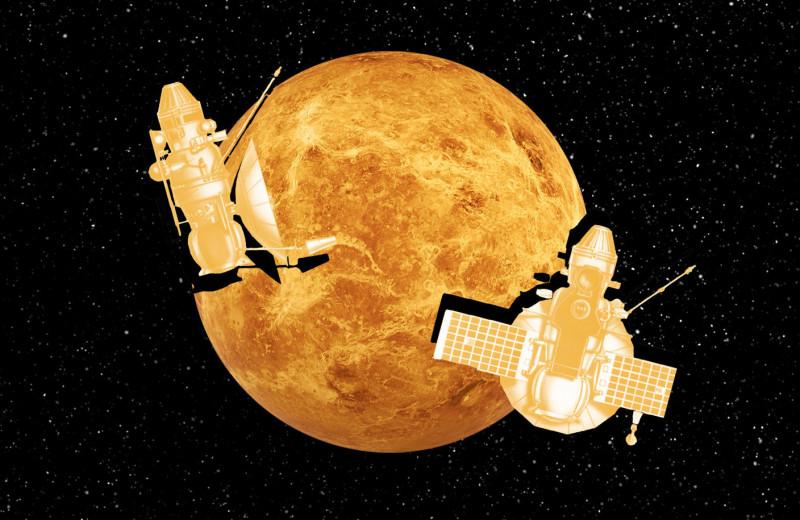 Планета, на которой не выдерживает даже электроника. Что мы ищем на Венере?
