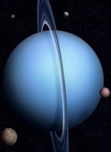 Луны Урана оказались похожими на карликовые планеты