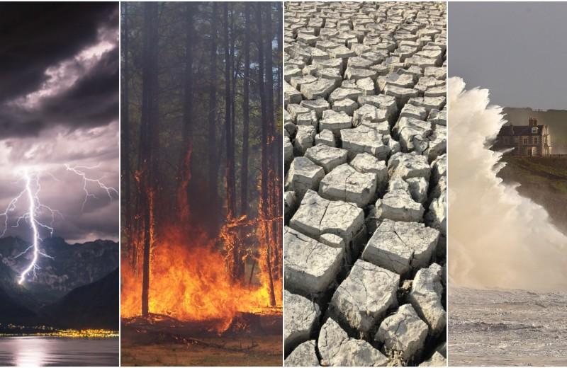 До шести стихийных бедствий одновременно – реальность XXI века