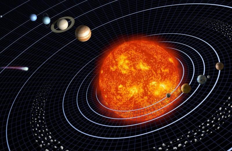 Центр Солнечной системы вычислили с точностью до 100 метров