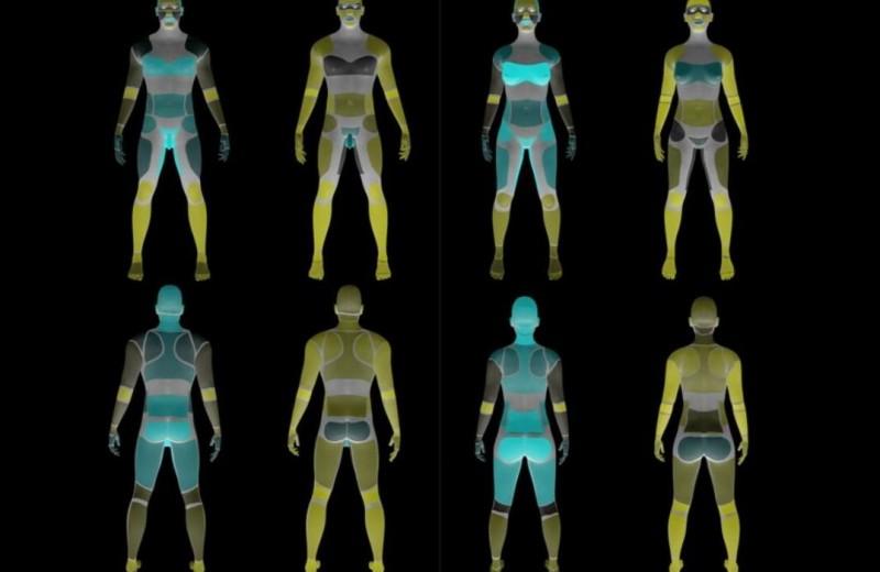 Эрогенные зоны собственного тела итела партнера оказались зеркальны