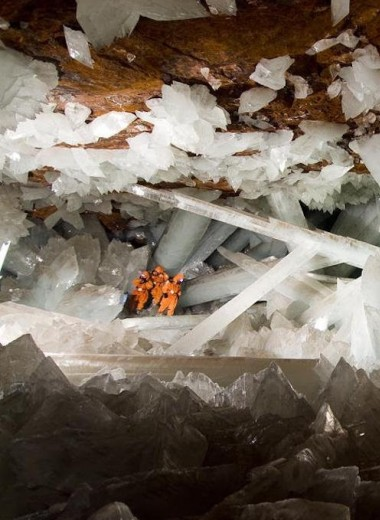 Как появилась знаменитая Пещера кристаллов под городом Найка